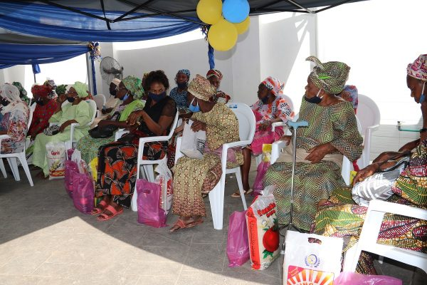 Cross section of Mamas with thier palliative
